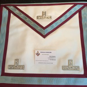 MARK Masters or Past Masters Apron