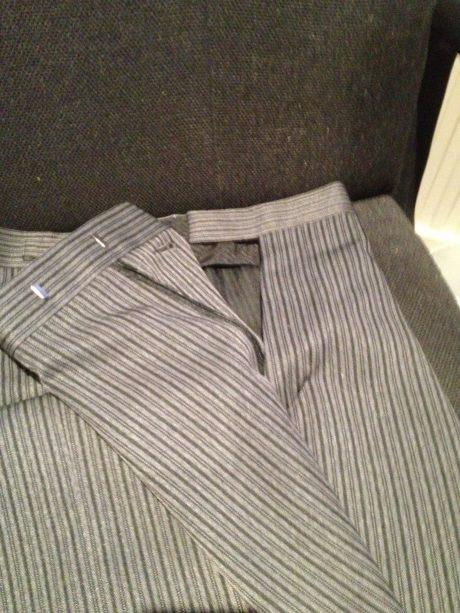 Masonic Stripe Trousers