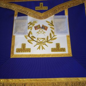 Grand Rank Apron & Collar