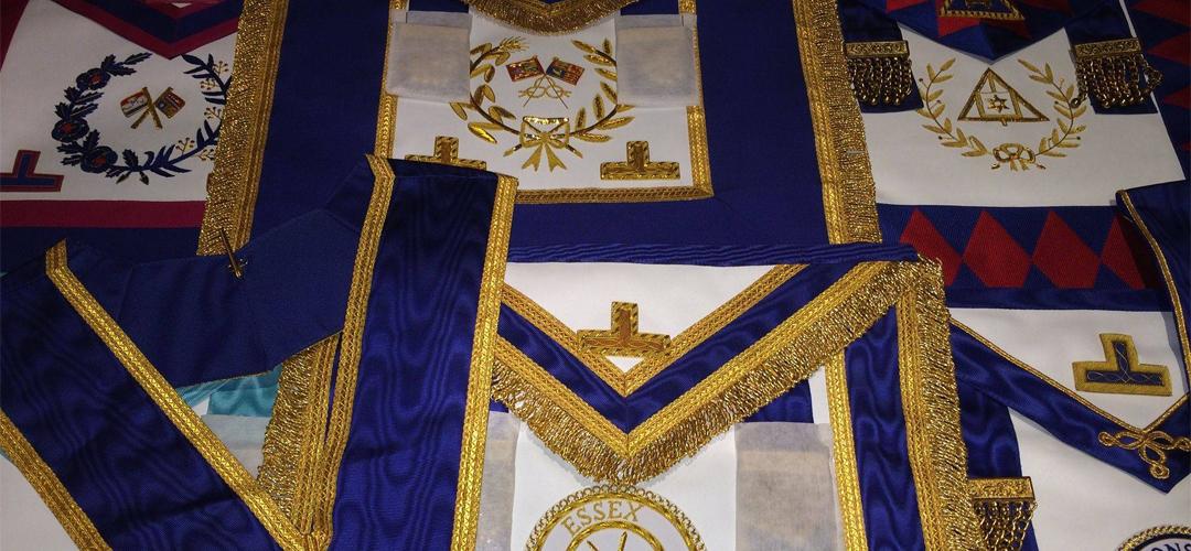 Masonic Regalia Plymouth | Hand Crafted Regalia at Wholesale
