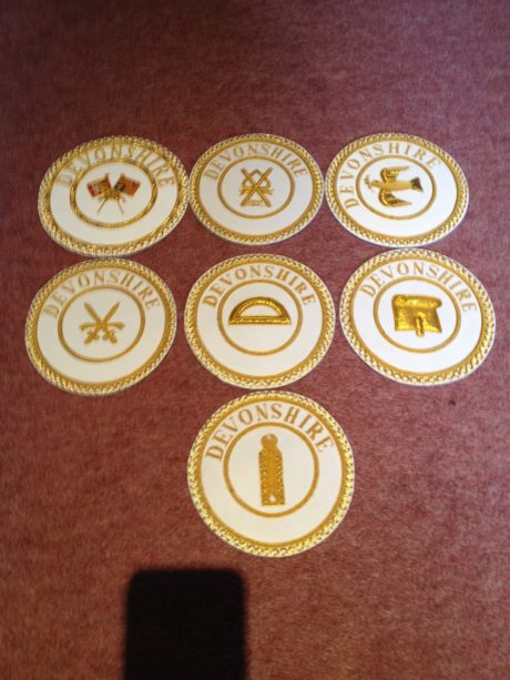 Provincial Apron Badges any province any rank