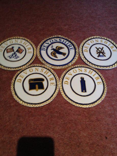 Undress Apron Badges
